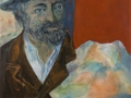 Cezanne mit Mont-Sainte-Victoire