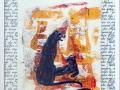 Serie: Poesie - R. M. Rilke - Der Panther / 60 x 50