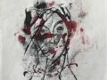 Portrait a la Modigliani II      22 x 42